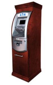 285 300px Hantle Tranax 1700w Wood Cabinet Atm Enclosure Red Mahogany